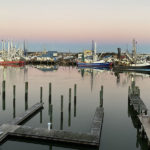 view of the marina from Beaufort Inn
