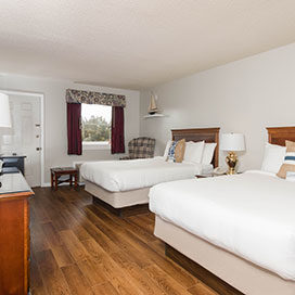 Two Double Beds room at Beaufort Inn