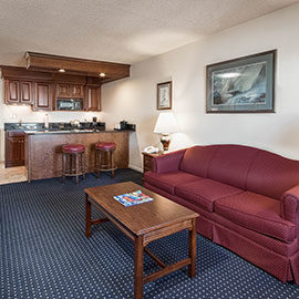 Two Room Suite at Beaufort Inn